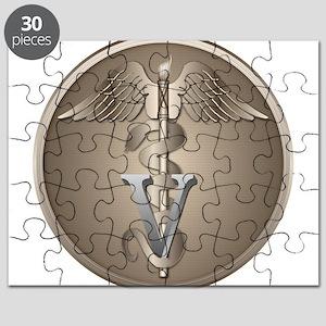 Veterinarian Caduceus Puzzle