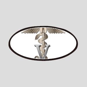 Veterinarian Caduceus Patches