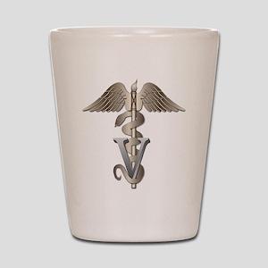 Veterinarian Caduceus Shot Glass