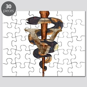 Veterinary Caduceus Puzzle