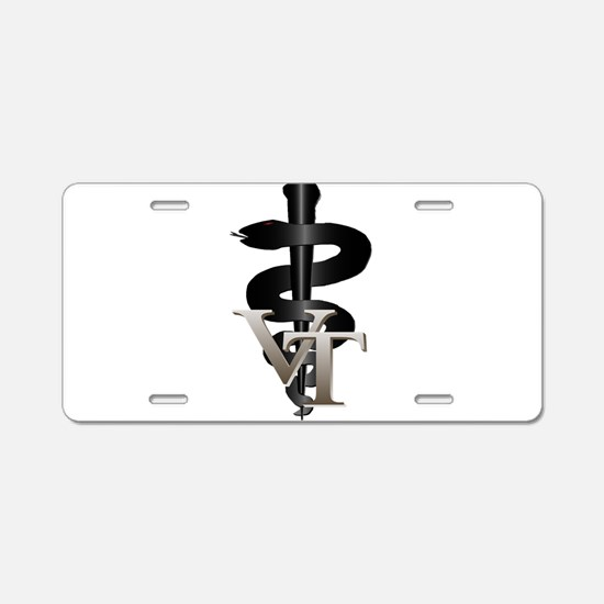 Veterinary Tech Aluminum License Plate