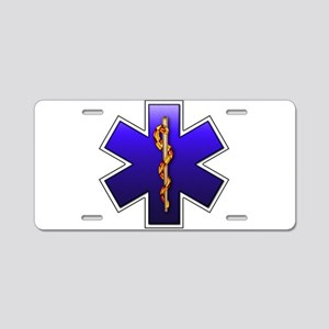 Star of Life(EMS) Aluminum License Plate