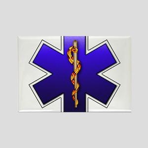 Star of Life(EMS) Rectangle Magnet
