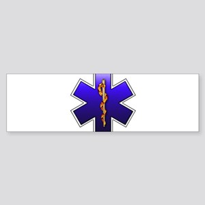 Star of Life(EMS) Sticker (Bumper)