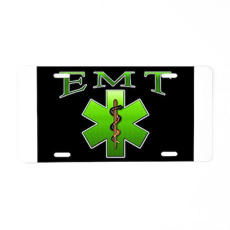 EMT(Green) Aluminum License Plate