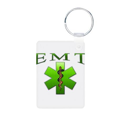 EMT(Green) Aluminum Photo Keychain