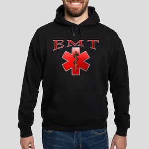 EMT(Red) Hoodie (dark)