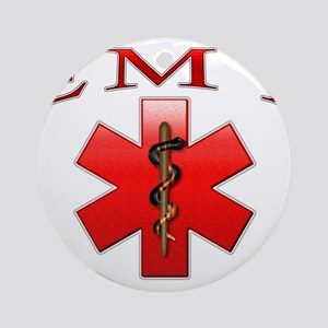 EMT(Red) Ornament (Round)
