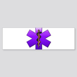 Star of Life(Violet) Sticker (Bumper)