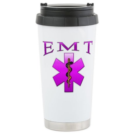 EMT(pink) Stainless Steel Travel Mug