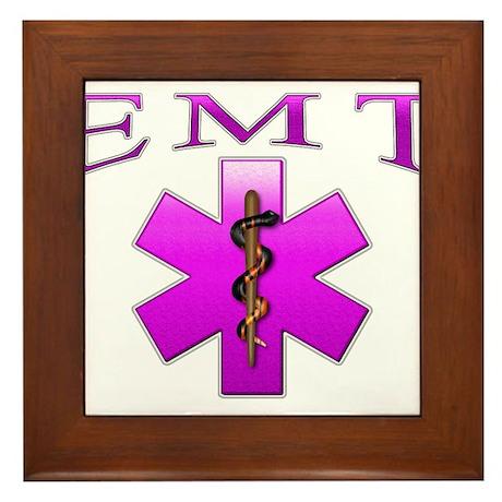 EMT(pink) Framed Tile