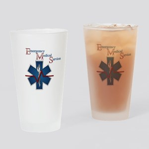 EMS Life Line Drinking Glass