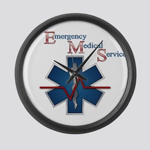 EMS Life Line Large Wall Clock
