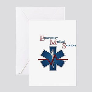 EMS Life Line Greeting Card
