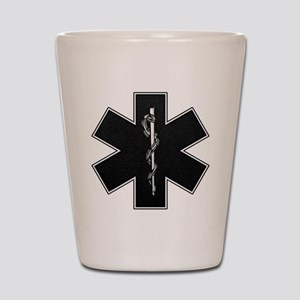 Star of Life(BW) Shot Glass