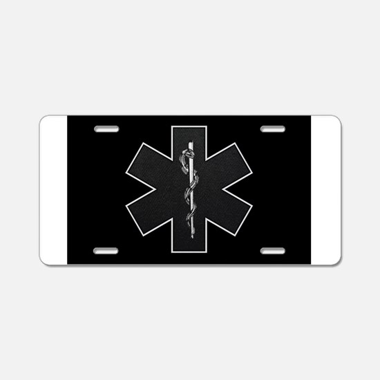 Star of Life(BW) Aluminum License Plate