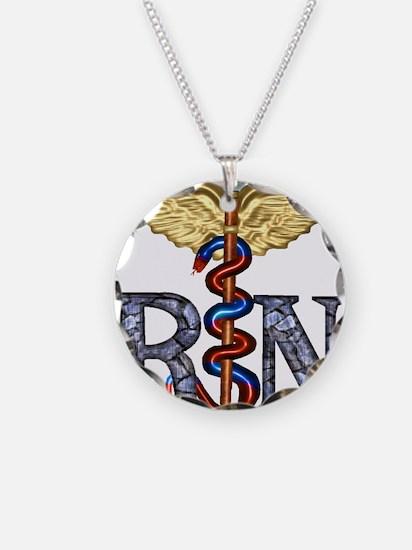 RN Caduceus Necklace