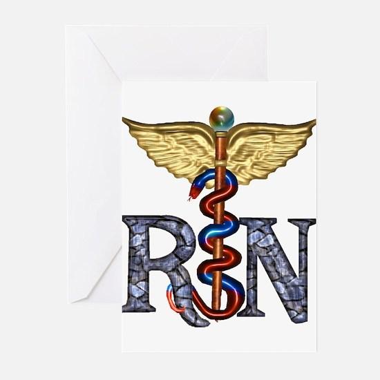 RN Caduceus Greeting Cards (Pk of 20)