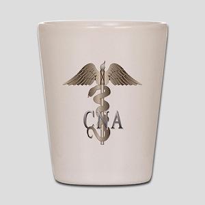 CNA Caduceus Shot Glass