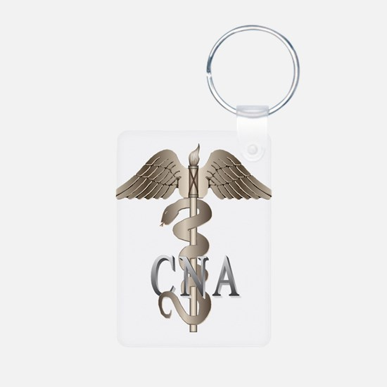 CNA Caduceus Keychains