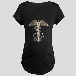 CNA Caduceus Maternity Dark T-Shirt