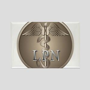 LPN Caduceus Rectangle Magnet