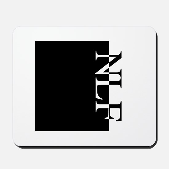 NLF Typography Mousepad