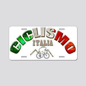 Italy Cycling Aluminum License Plate