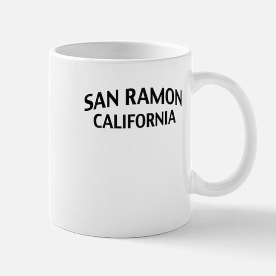 San Ramon California Mug