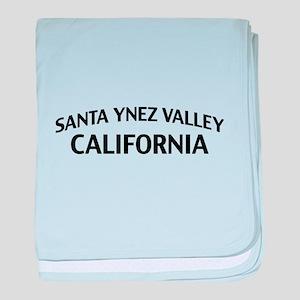 Santa Ynez Valley California baby blanket