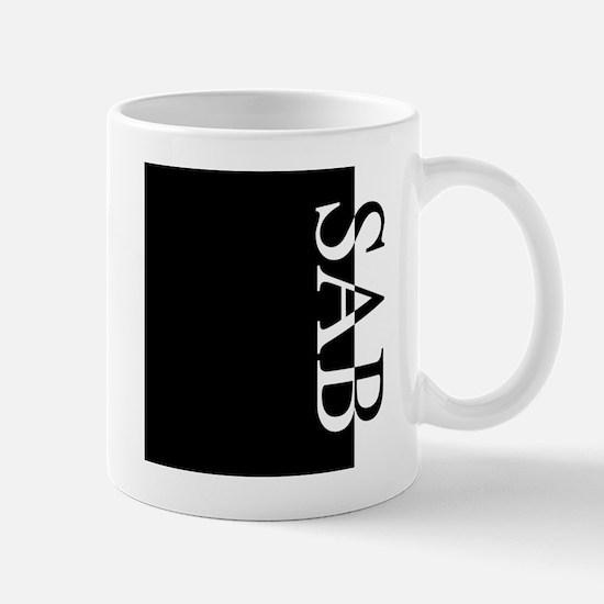 SAB Typography Mug