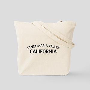 Santa Maria Valley California Tote Bag