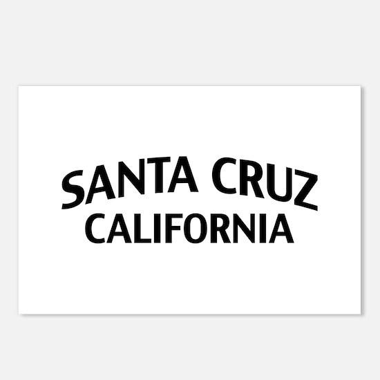 Santa Cruz California Postcards (Package of 8)