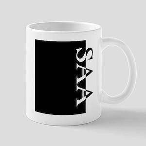 SAA Typography Mug