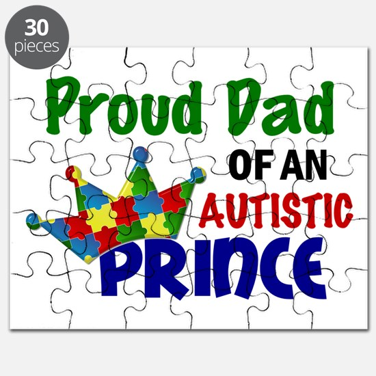 Proud Of My Autistic Prince Puzzle