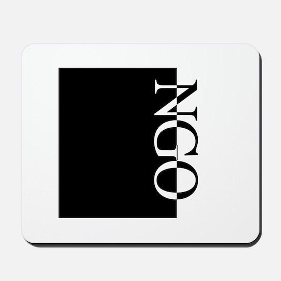 NGO Typography Mousepad