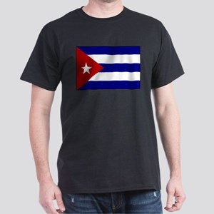 Flag of Cuba 1 Dark T-Shirt