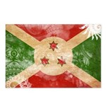Burundi Flag Postcards (Package of 8)