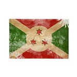 Burundi Flag Rectangle Magnet (10 pack)