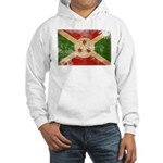 Burundi Flag Hooded Sweatshirt