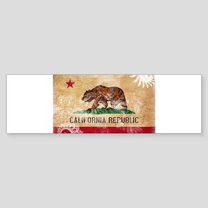 California Flag Sticker (Bumper)