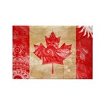 Canada Flag Rectangle Magnet (100 pack)