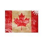 Canada Flag Rectangle Magnet