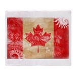 Canada Flag Throw Blanket