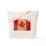 Canada Flag Tote Bag