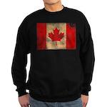 Canada Flag Sweatshirt (dark)