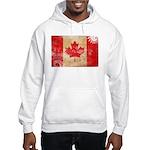 Canada Flag Hooded Sweatshirt
