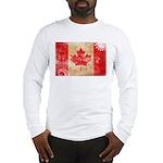 Canada Flag Long Sleeve T-Shirt