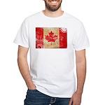 Canada Flag White T-Shirt