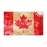 Canada Flag 38.5 x 24.5 Wall Peel